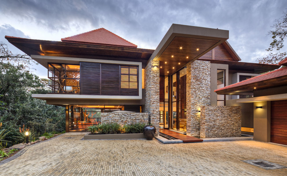 Entrance, Driveway, Home in Zimbali, South Africa