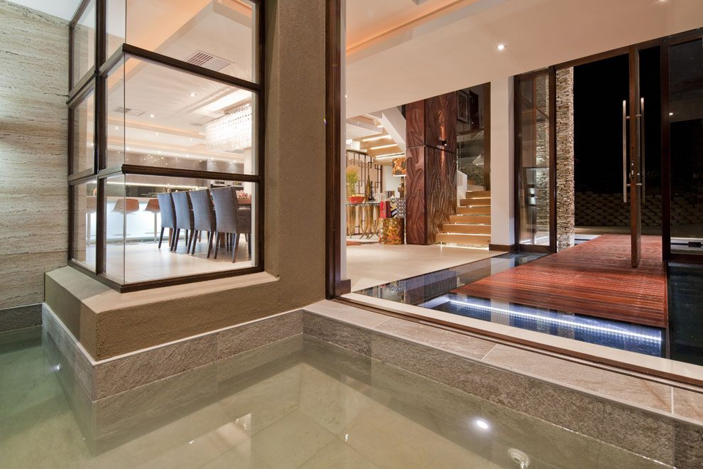 Entrance, Glass Door, Home in Zimbali, South Africa