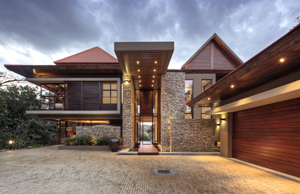Garage, Driveway, Entrance, Home in Zimbali, South Africa