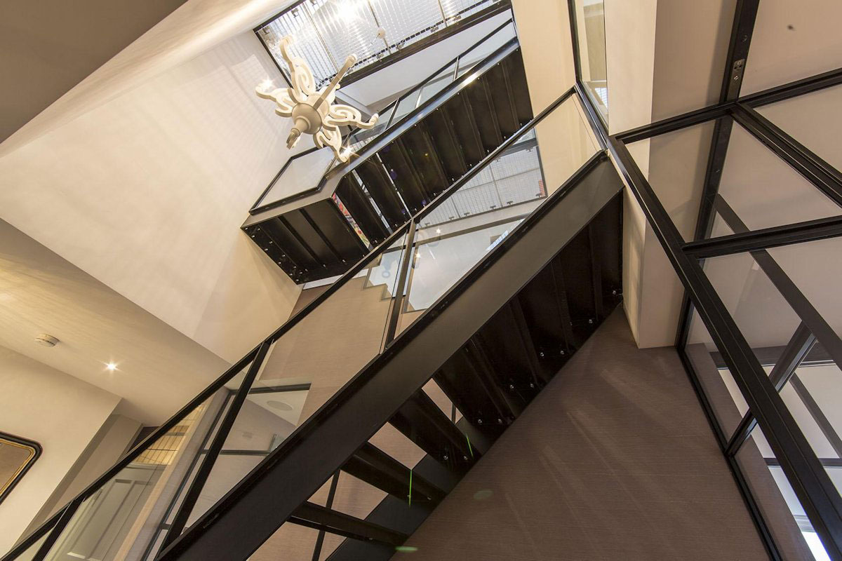 Grand Stairway, Apartment in Amsterdam