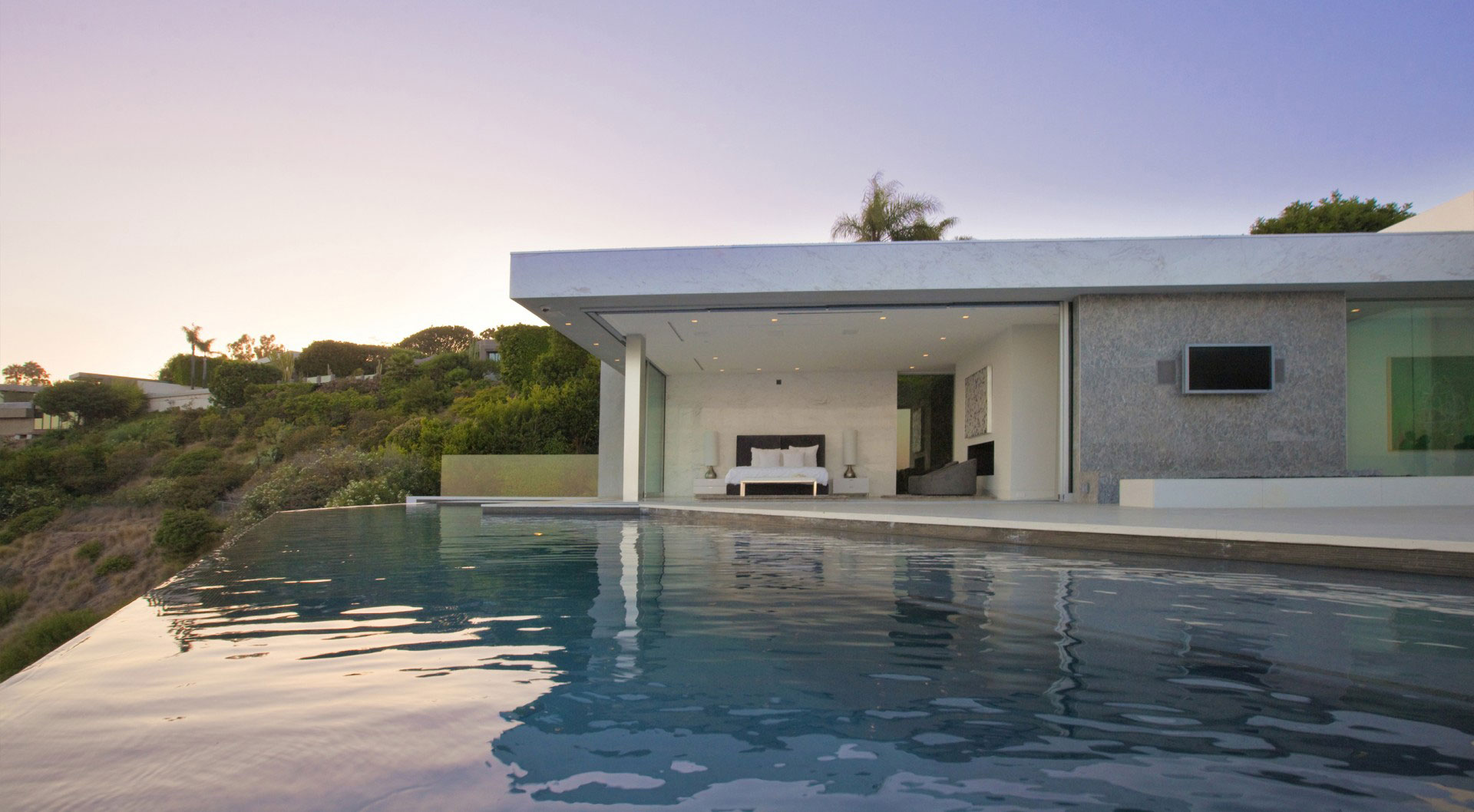 Infinity Pool, Tanager Residence in West Hollywood