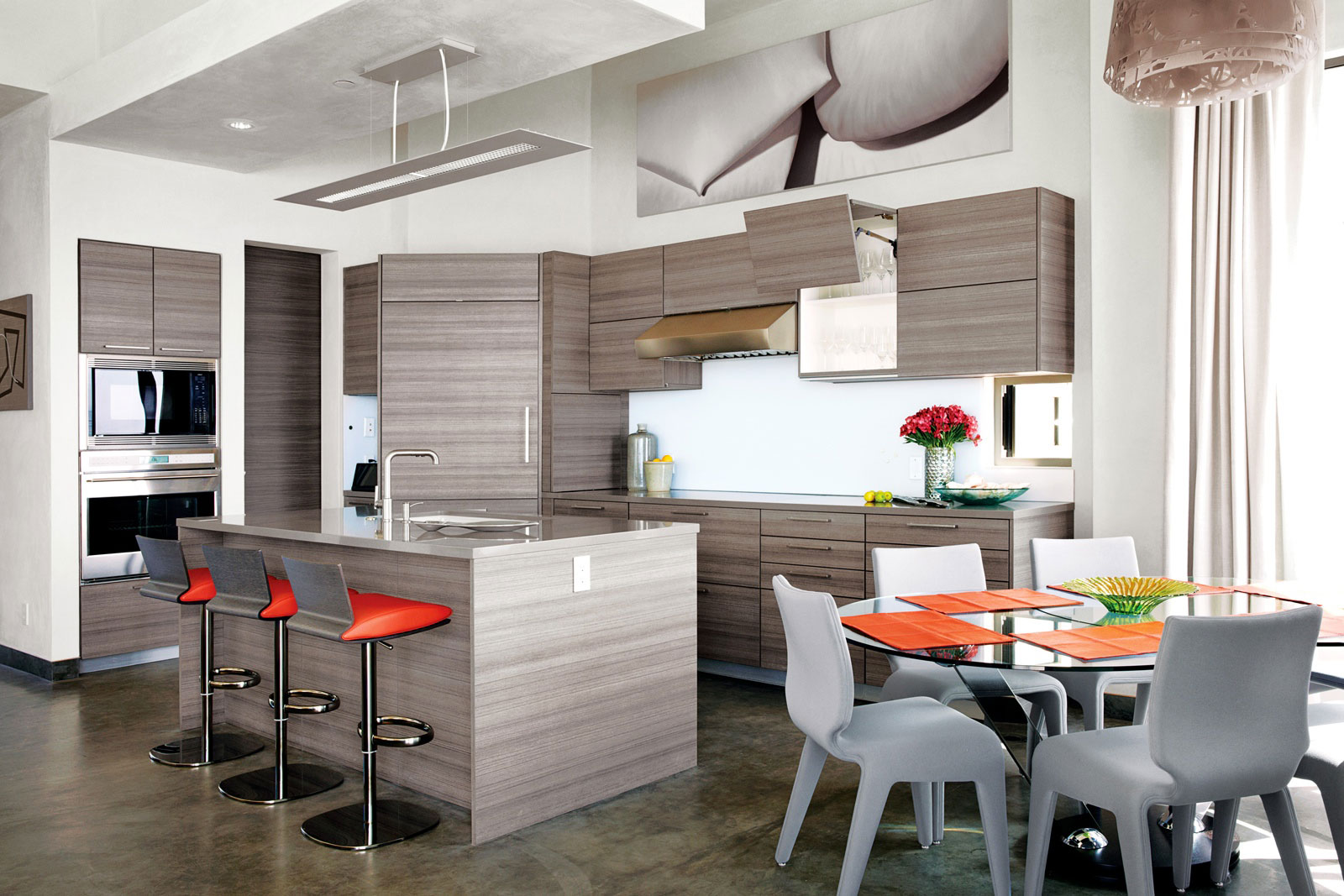 Eco friendly beach house in ventura county california for Decoration cuisine moderne 2014