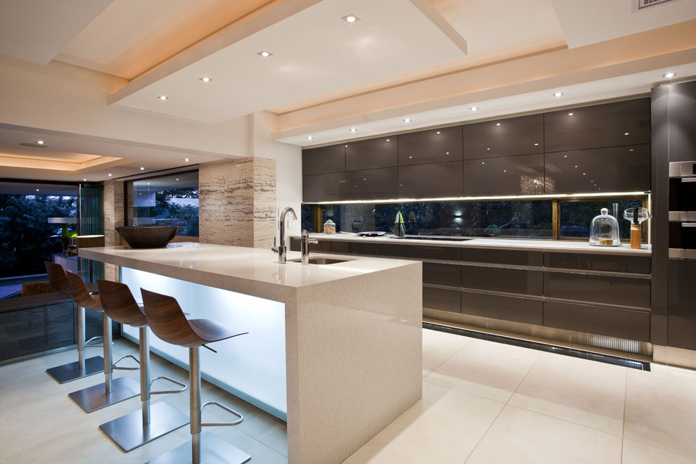 Kitchen Island, Lighting, Home in Zimbali, South Africa