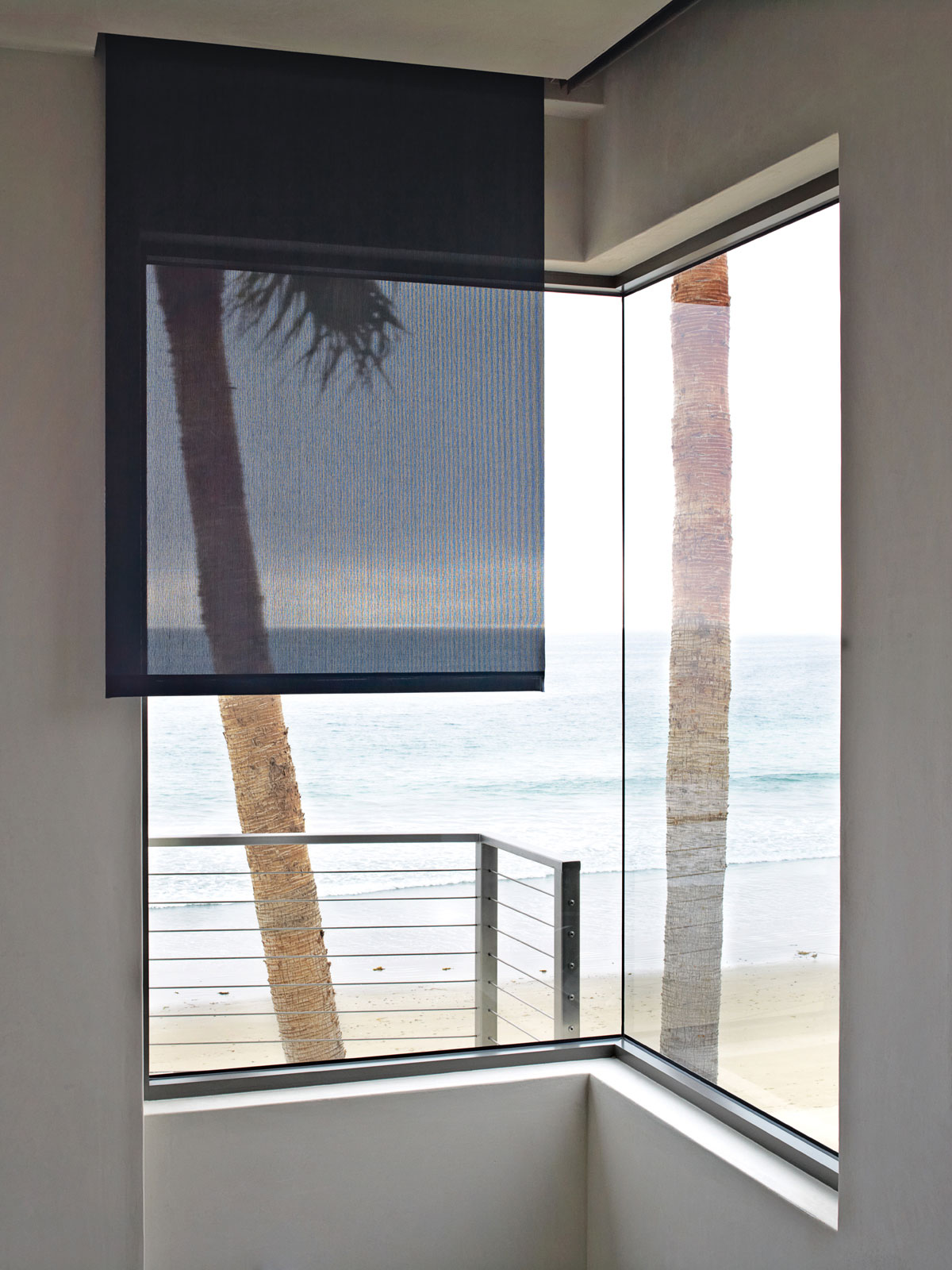 Large Window, Eco-Friendly Beach House in California