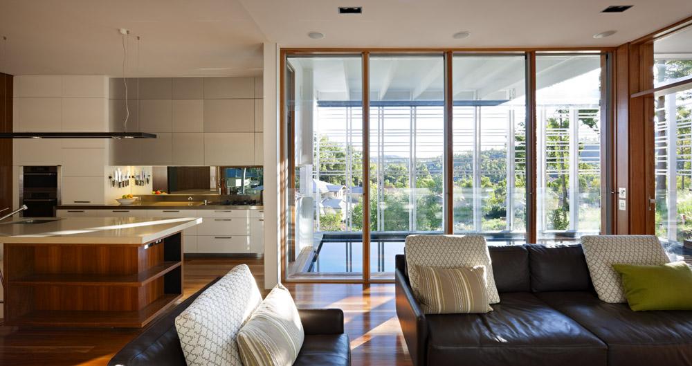 Living Space, Stonehawke House in Brisbane, Australia