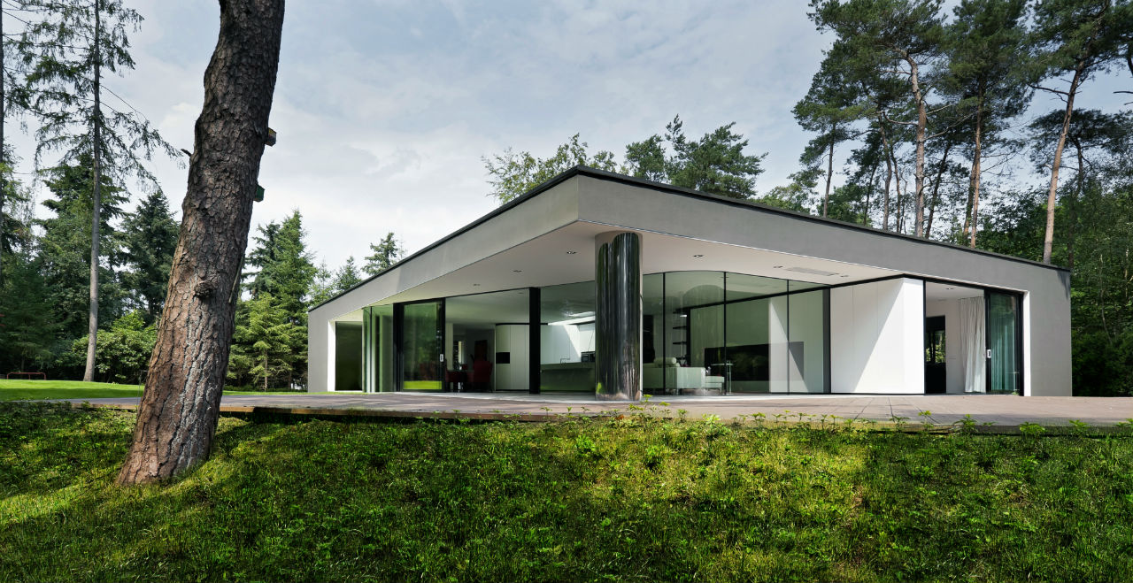 Sleek and Stylish Abstract Villa in Hattem, The Netherlands
