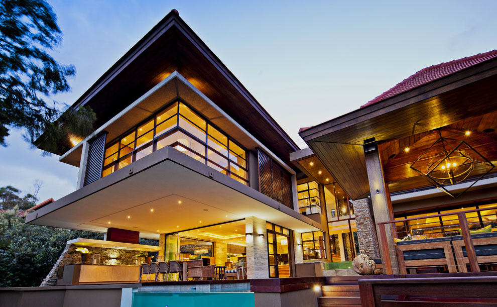Pool, Lighting, Home in Zimbali, South Africa