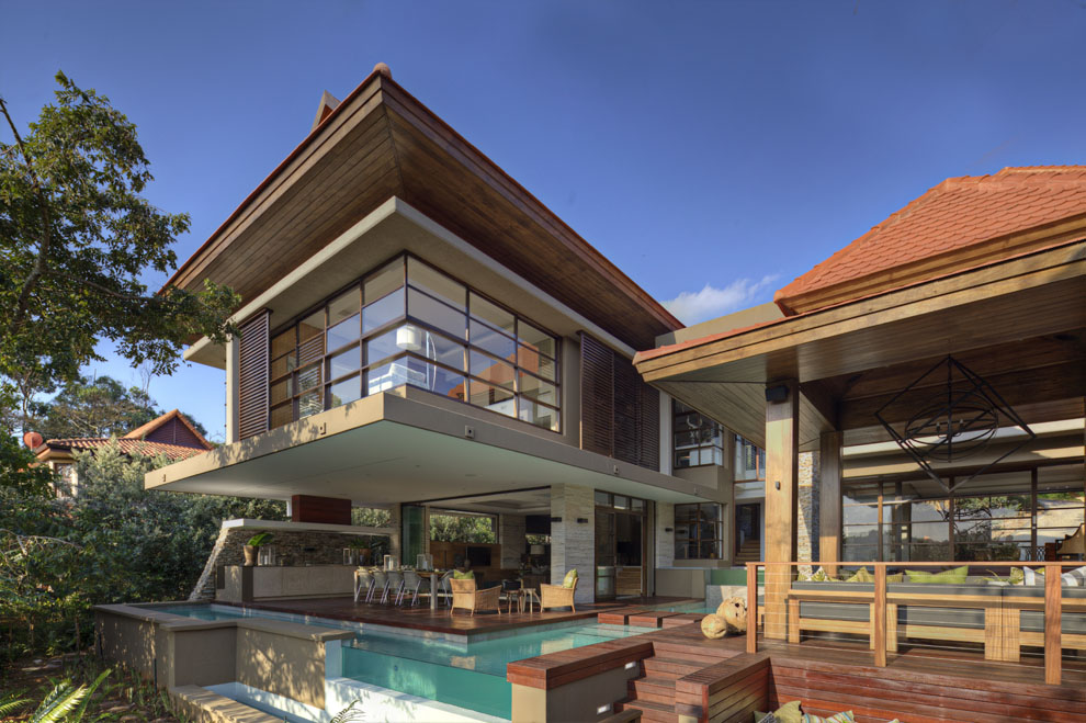 Pool, Terrace, Home in Zimbali, South Africa