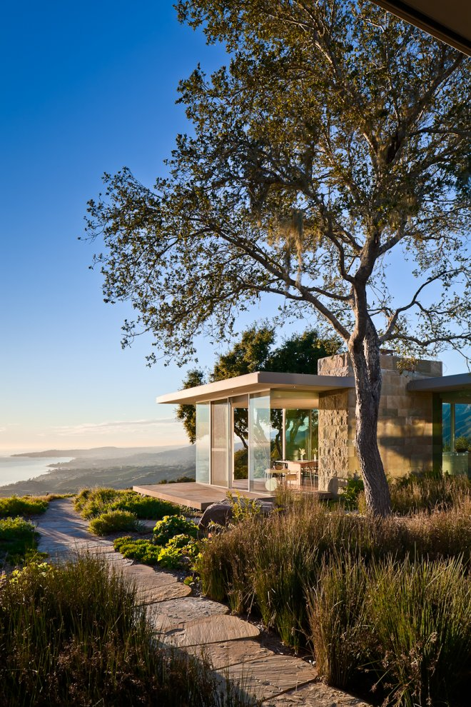 Stunning Views, Floor-to-Ceiling Windows, Hilltop Home in Carpinteria, California