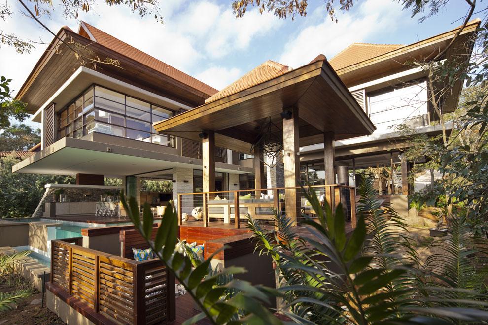 Veranda, Terrace, Home in Zimbali, South Africa