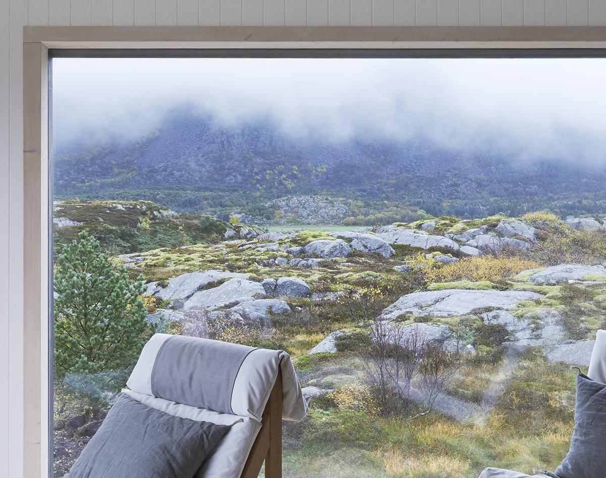 Window, Vega Cottage in Vega, Norway