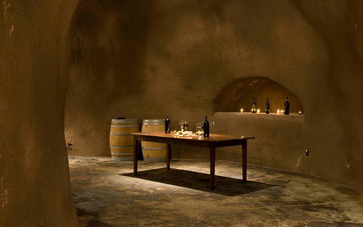 Wine Cellar - Room, Home in the Sonoma Valley, California