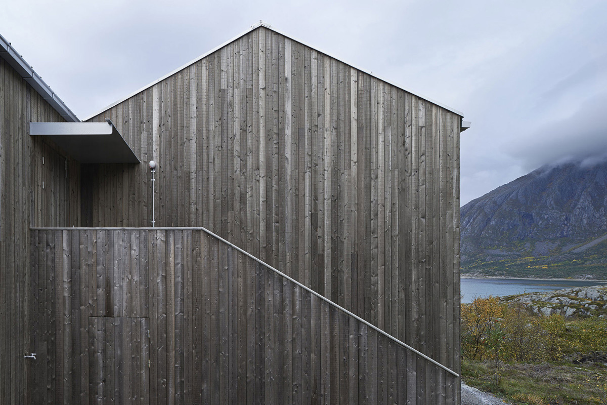 Wood Paneling, Vega Cottage in Vega, Norway