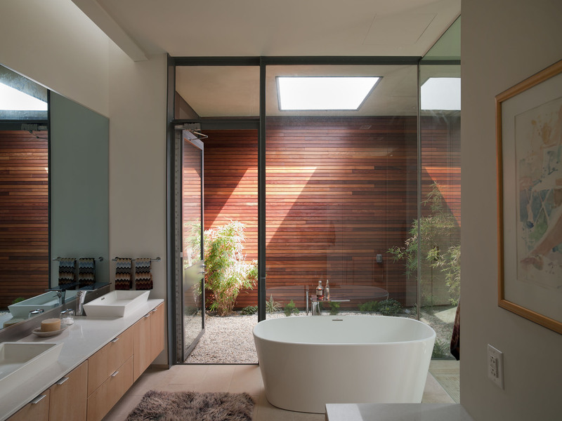 Bath, Bathroom, Eco-Friendly House in Texas