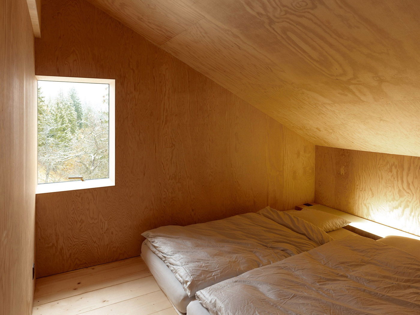 Bedroom, Holiday Home Renovation in Ayent, Switzerland