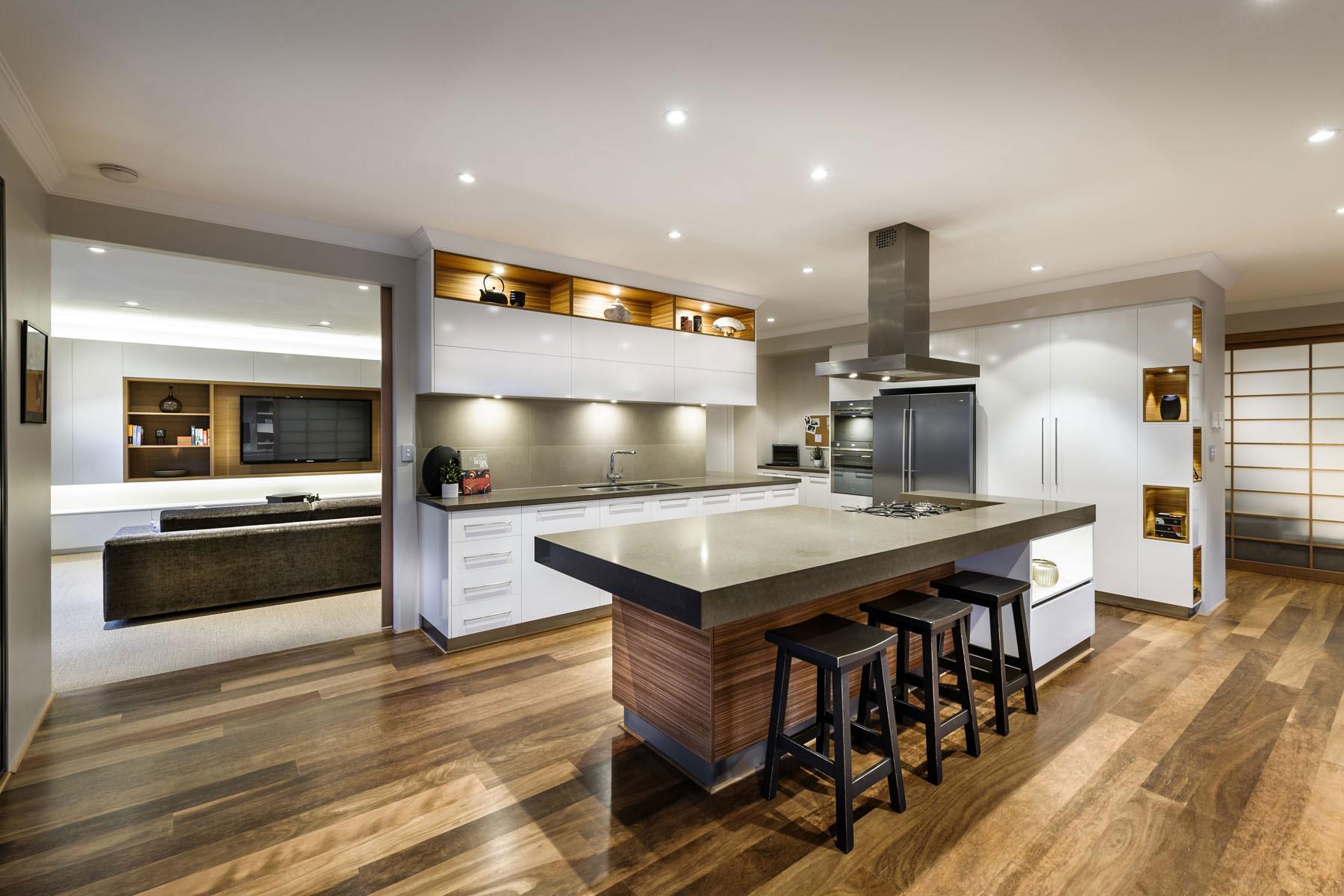 Japanese-Inspired Family House in Burns Beach, Perth, Australia