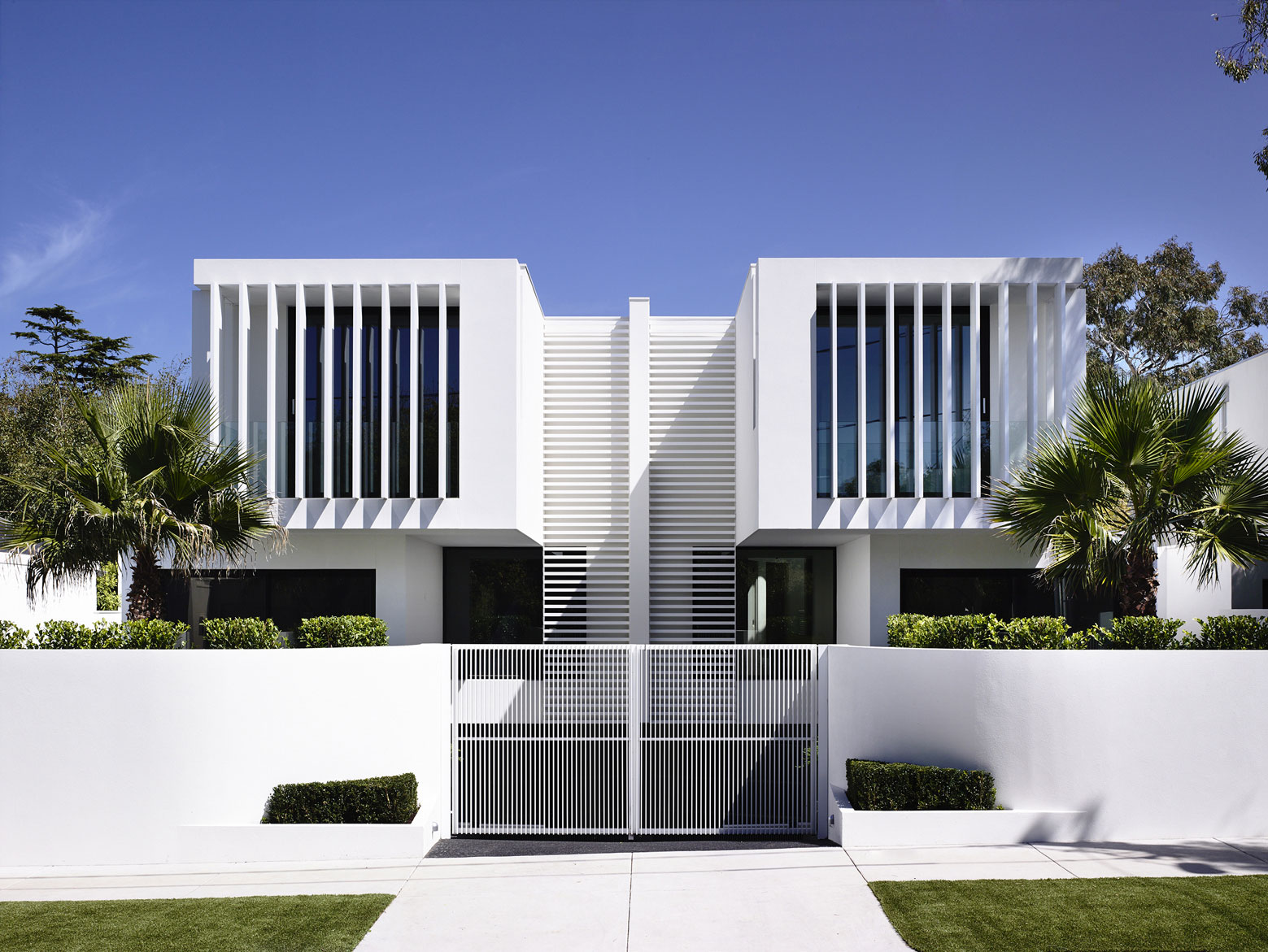 Entrance, Townhouses in Brighton, Australia