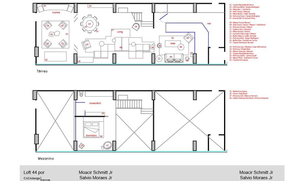 Floor Plan, Apartment in Praia Brava