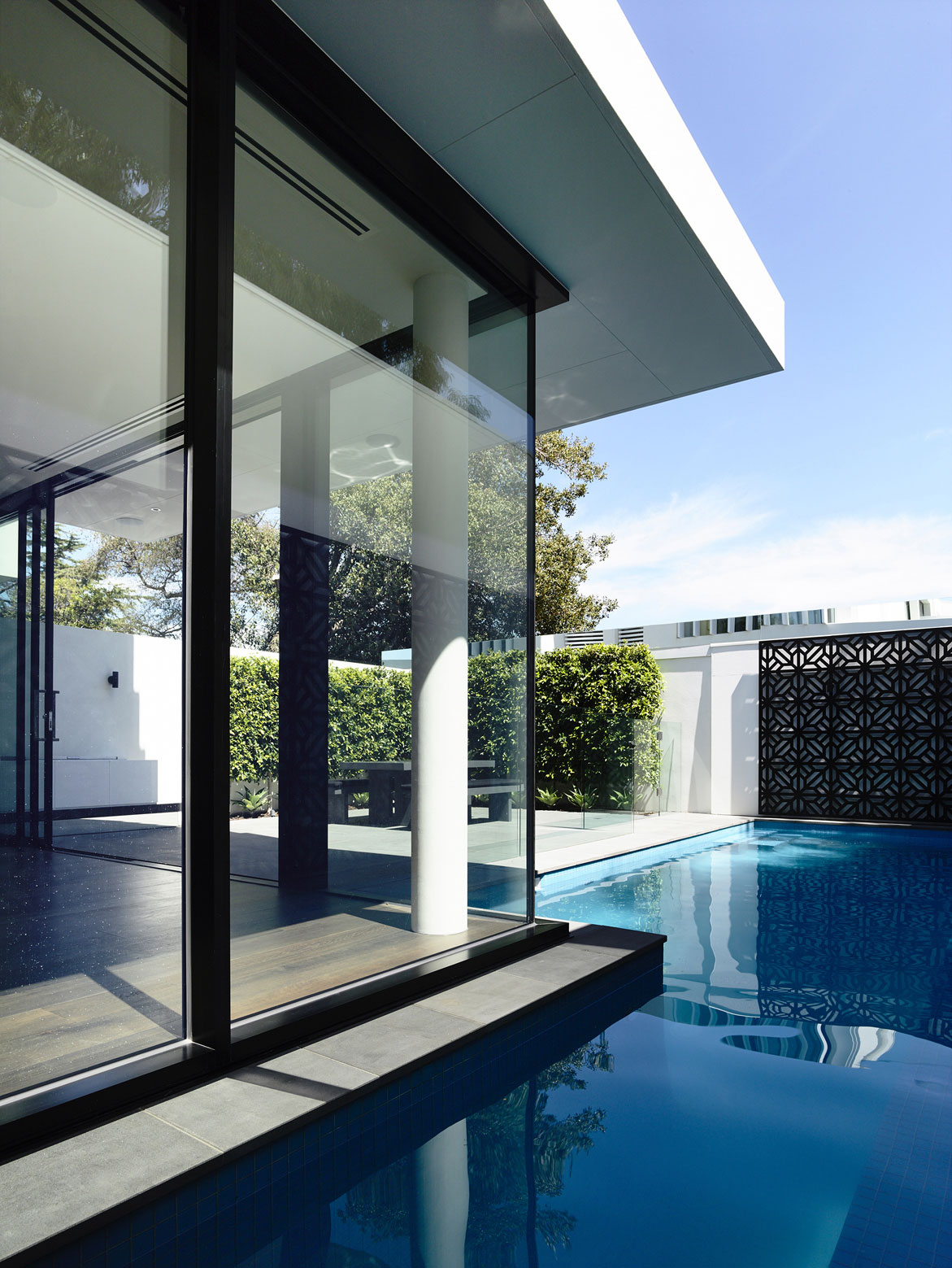 Glass Walls, Pool, Townhouses in Brighton, Australia
