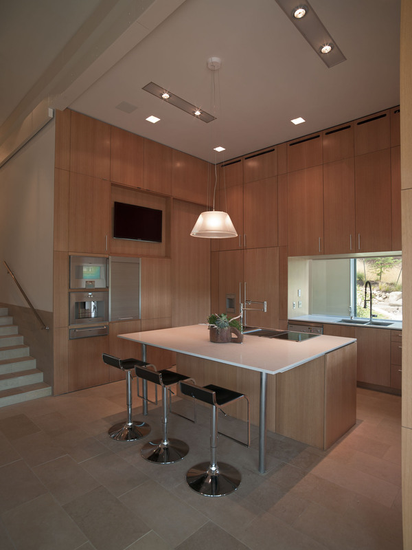 Kitchen Island, Breakfast Bar, Eco-Friendly House in Texas