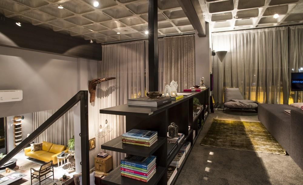 Mezzanine, Bedroom, Lighting, Apartment in Praia Brava