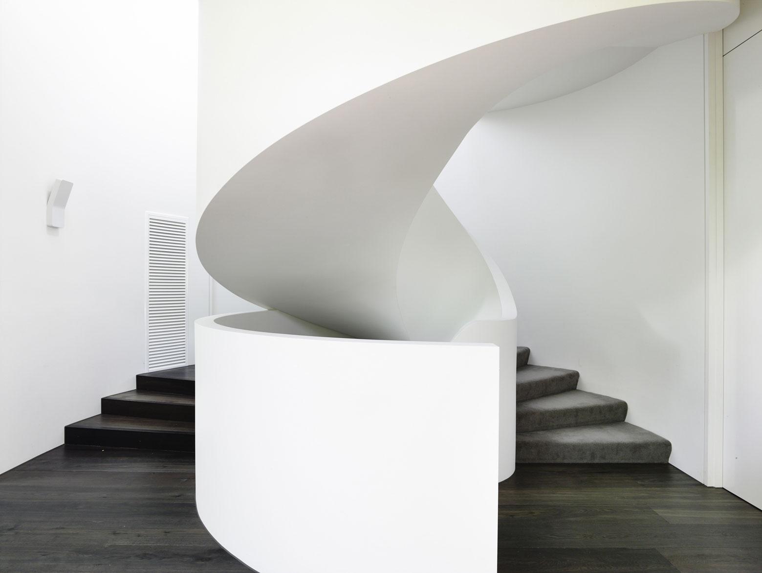 Modern Stairs, Townhouses in Brighton, Australia