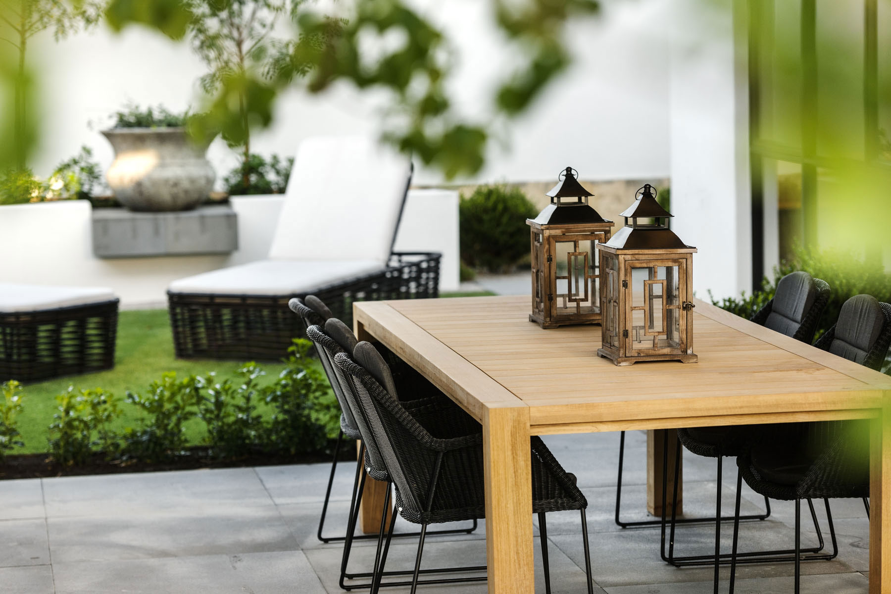 Outdoor Dining Table, Terrace, House in Burns Beach, Perth