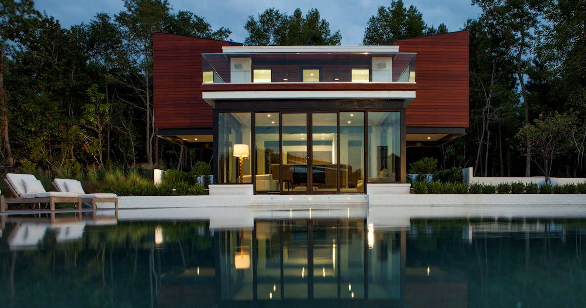 Pool, Evening, Guest House in Wilmington, North Carolina