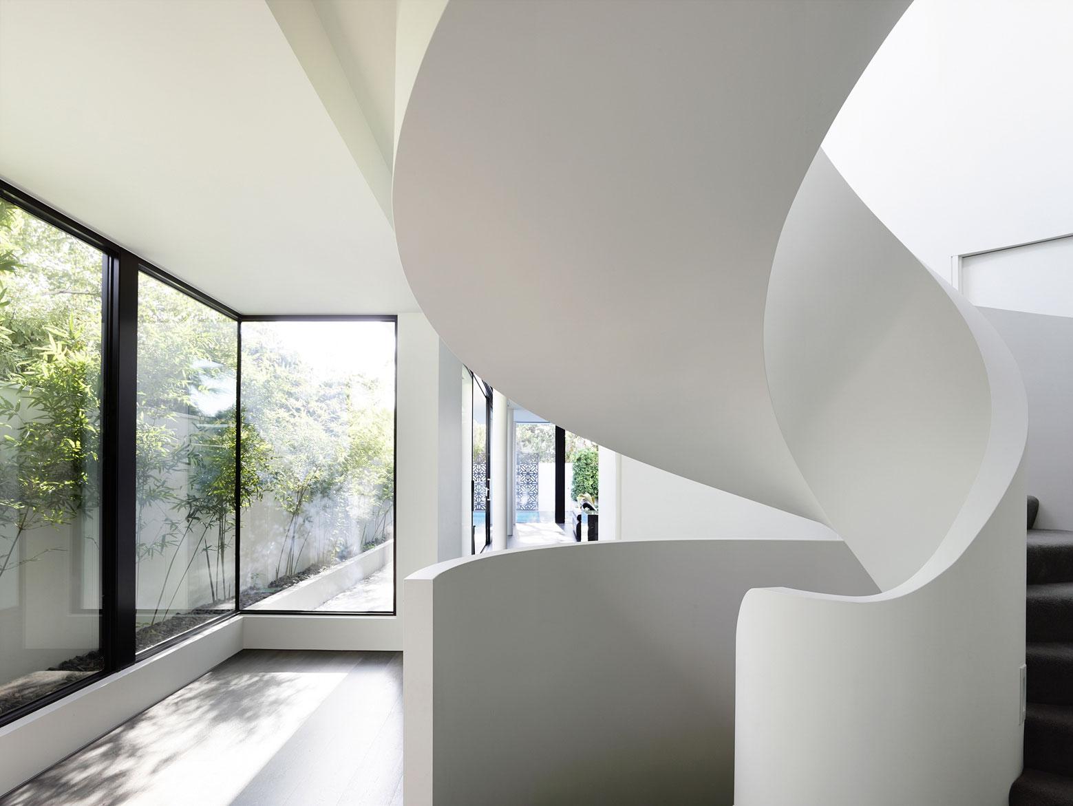 Spiral Staircase, Townhouses in Brighton, Australia