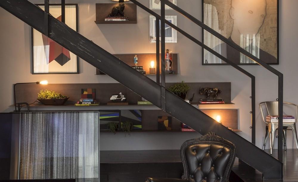 Stairs, Art, Apartment in Praia Brava