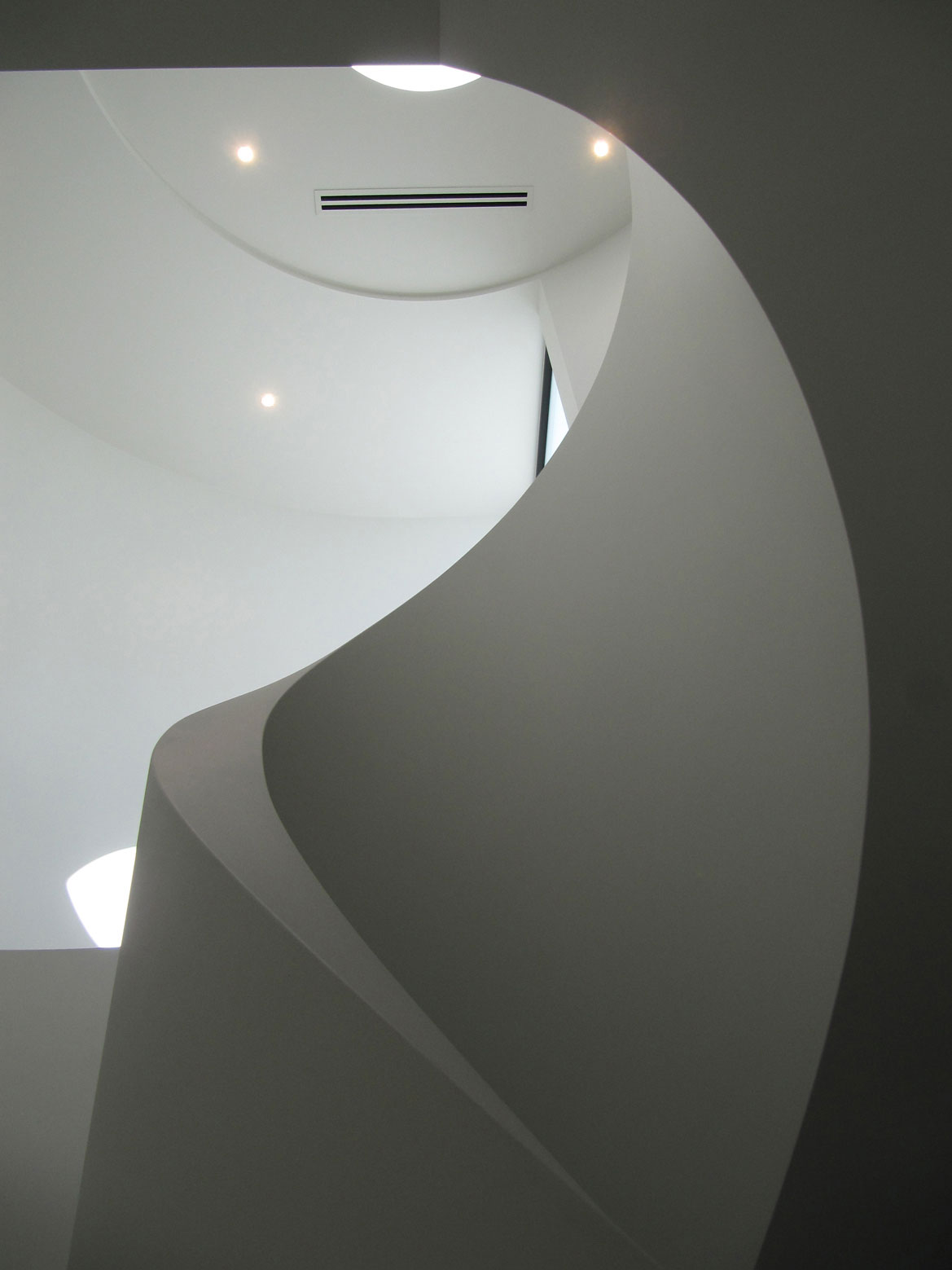 Stairs, Vertical View, Townhouses in Brighton, Australia