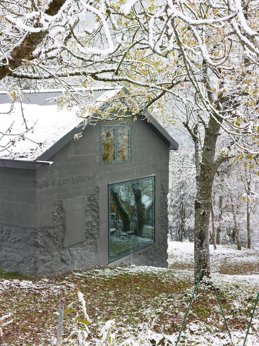 Steep Garden, Holiday Home Renovation in Ayent, Switzerland