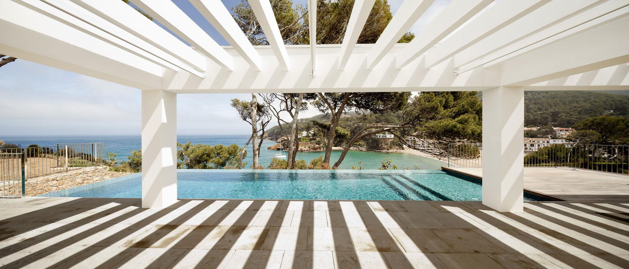 Veranda, Pool, Sea Views, Waterfront House in Costa Brava, Spain