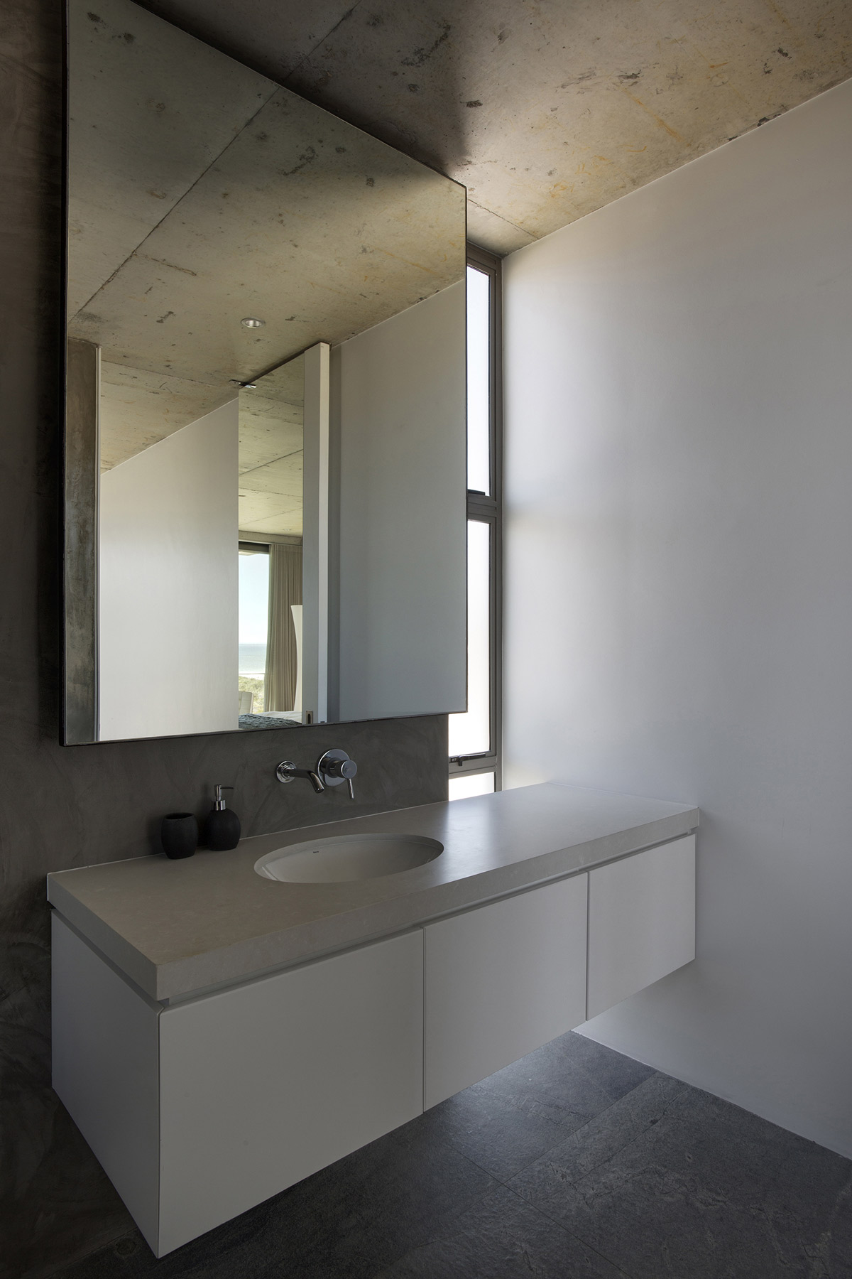 Bathroom, Mirror, Sink, Holiday Home in Yzerfontein, South Africa