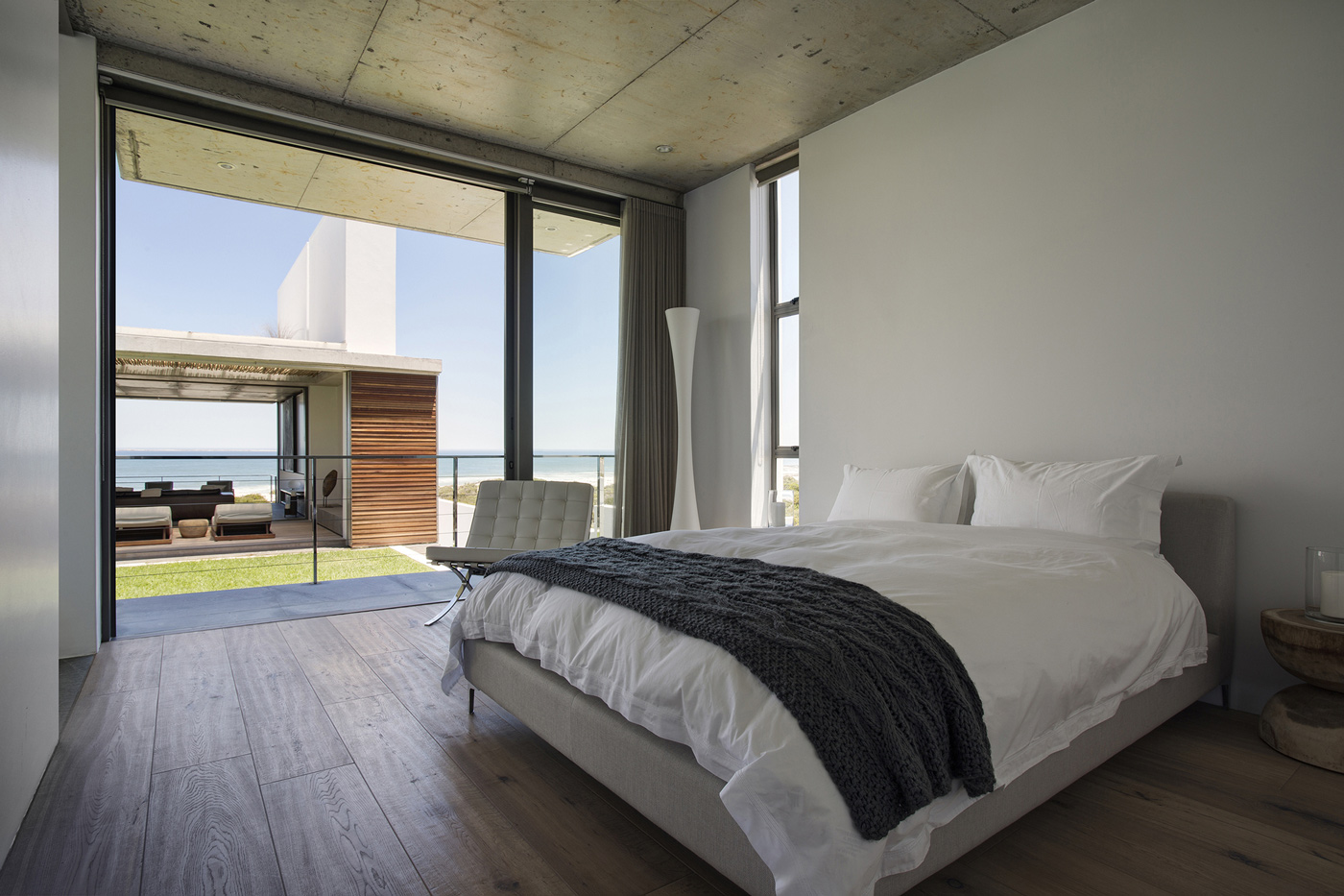 Bedroom, Balcony, Holiday Home in Yzerfontein, South Africa