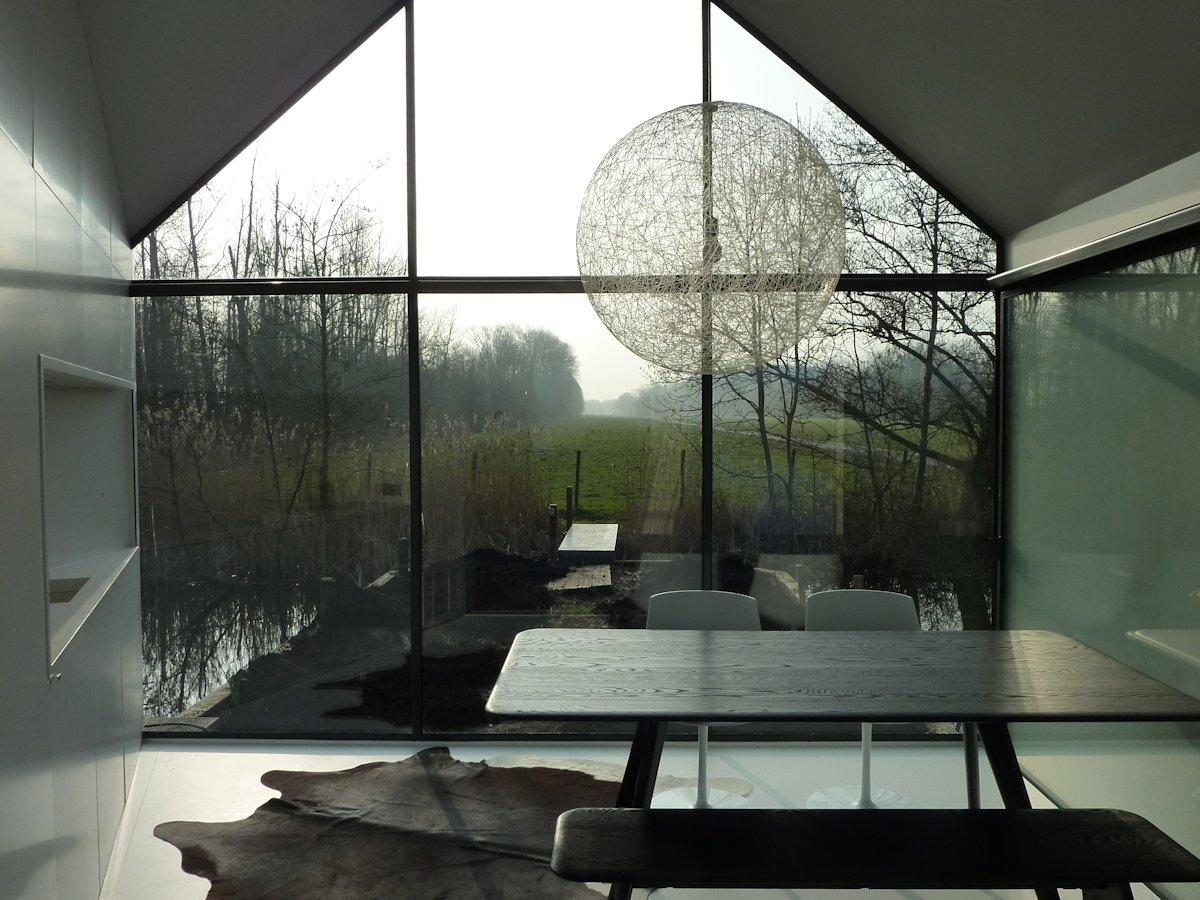 Dining Sapce, Compact Kitchen, Rug, Lighting, Holiday House in Loosdrechtse