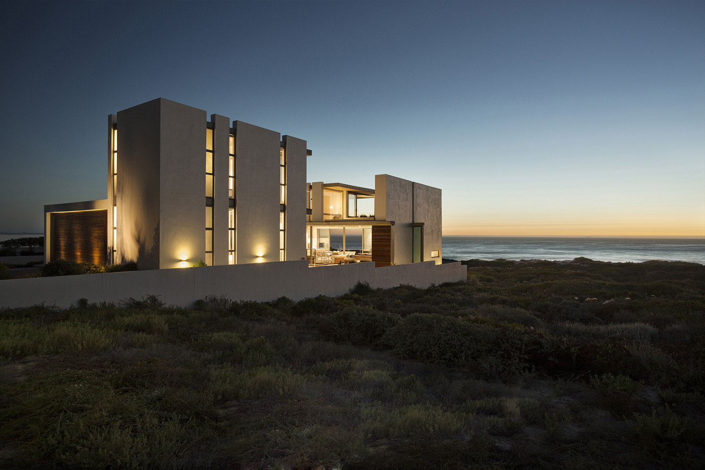 Evening, Lighting, Holiday Home in Yzerfontein, South Africa