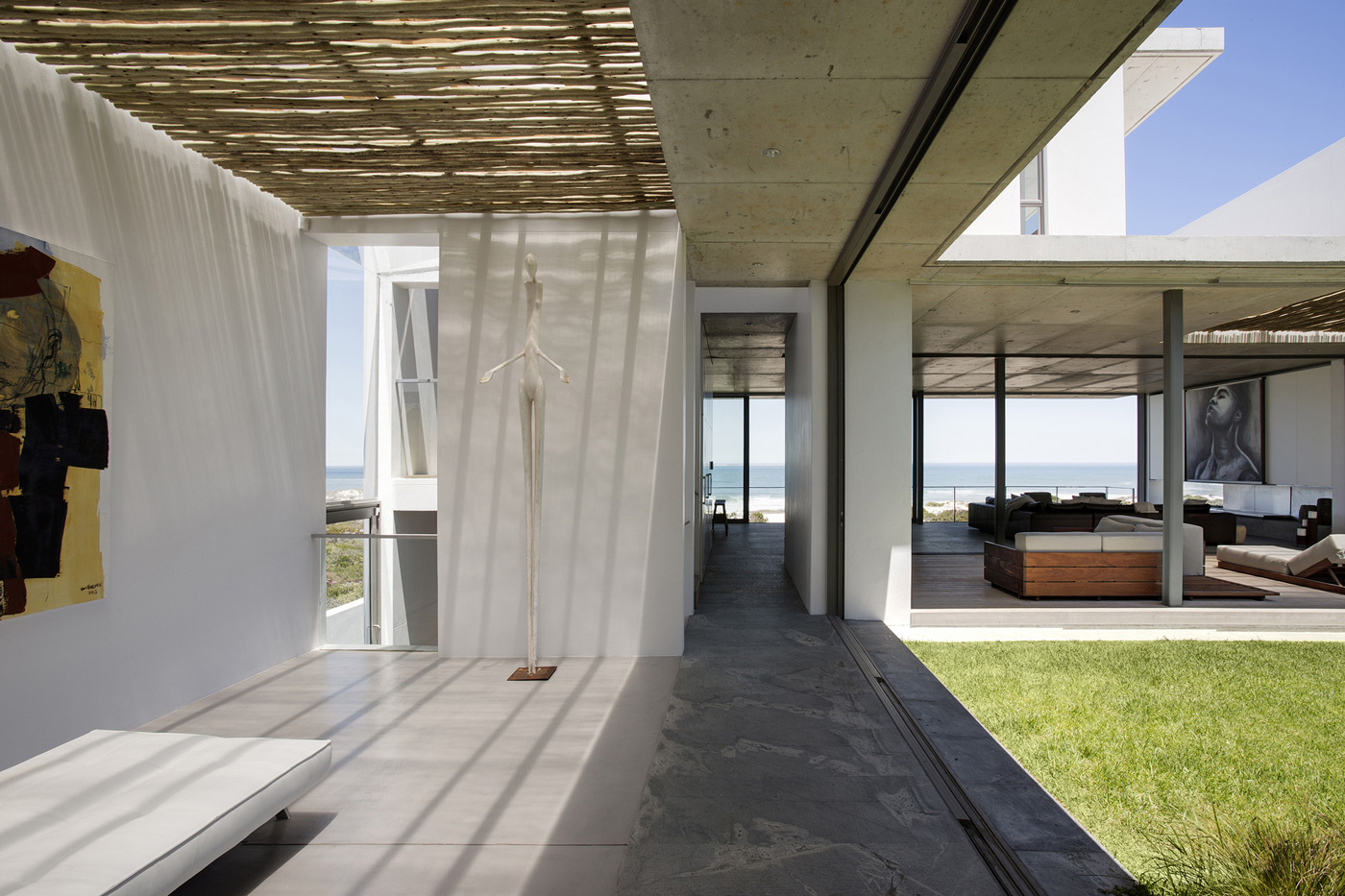 Art, Glass Sliding Doors, Holiday Home in Yzerfontein, South Africa