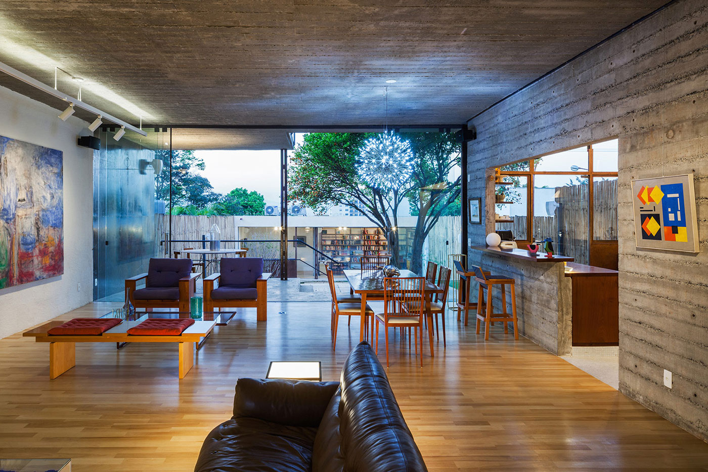 Trendy Urban House In S 227 O Paulo Brazil