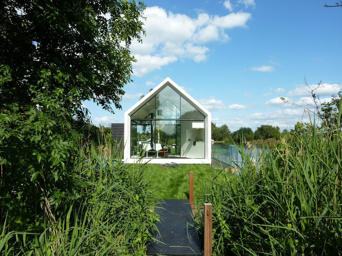 Large Window, Holiday House in Loosdrechtse