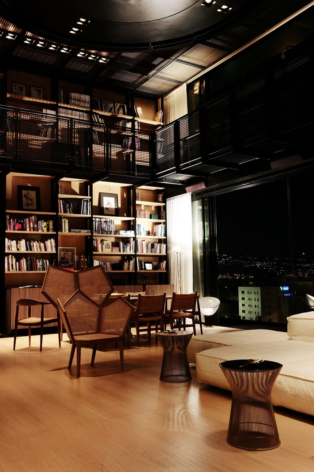 Living Space, Penthouse Apartment in Beirut, Lebanon