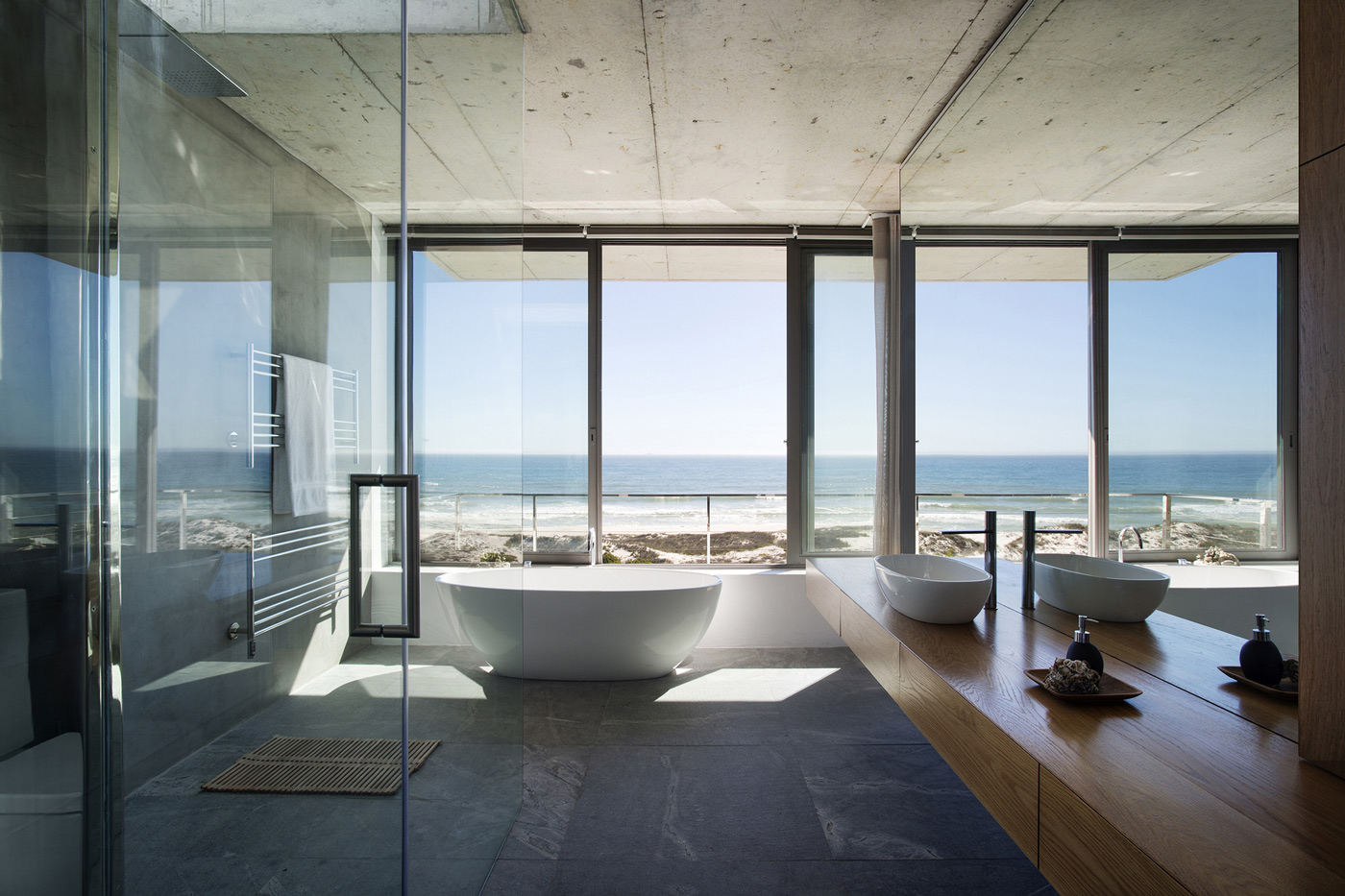 Modern Bathroom, Holiday Home in Yzerfontein, South Africa