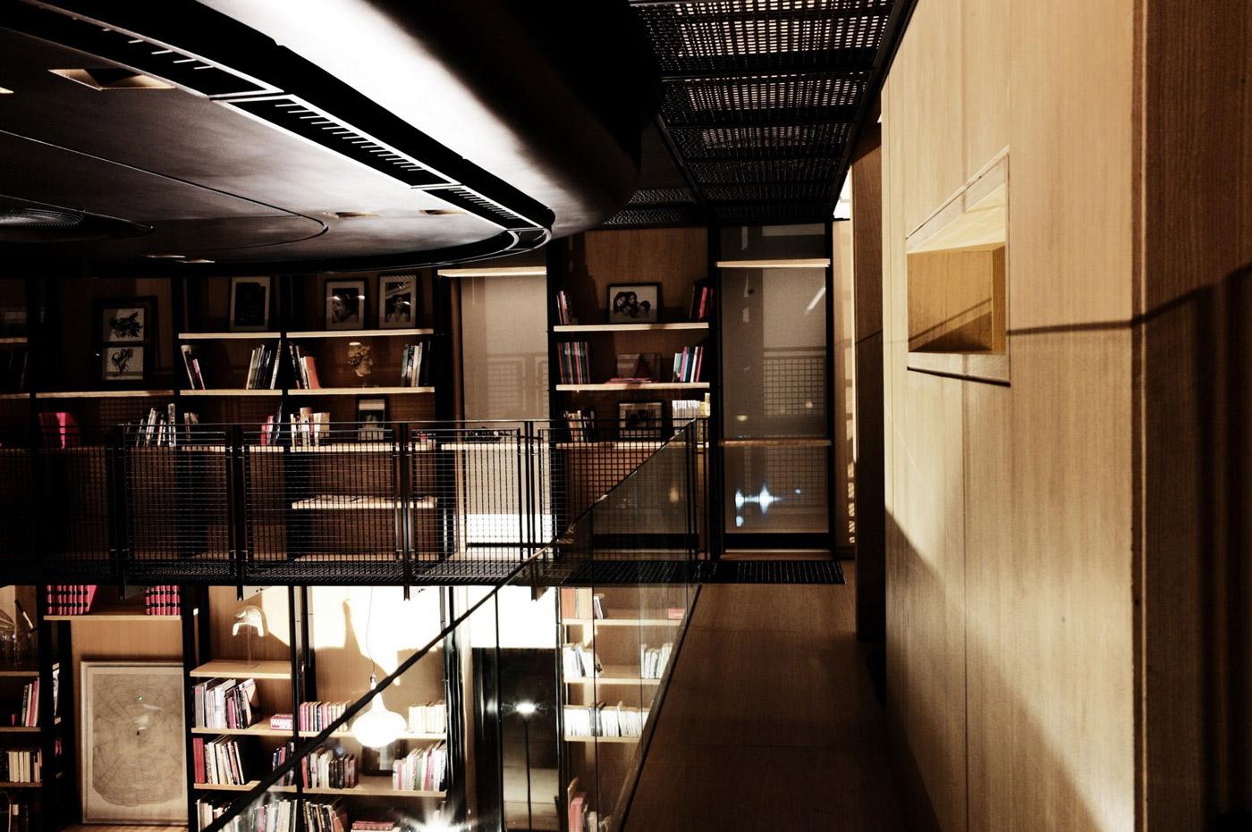 Shelves, Penthouse Apartment in Beirut, Lebanon