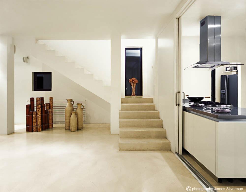 Stone Stairs, Hall, Art, Villa in Ibiza
