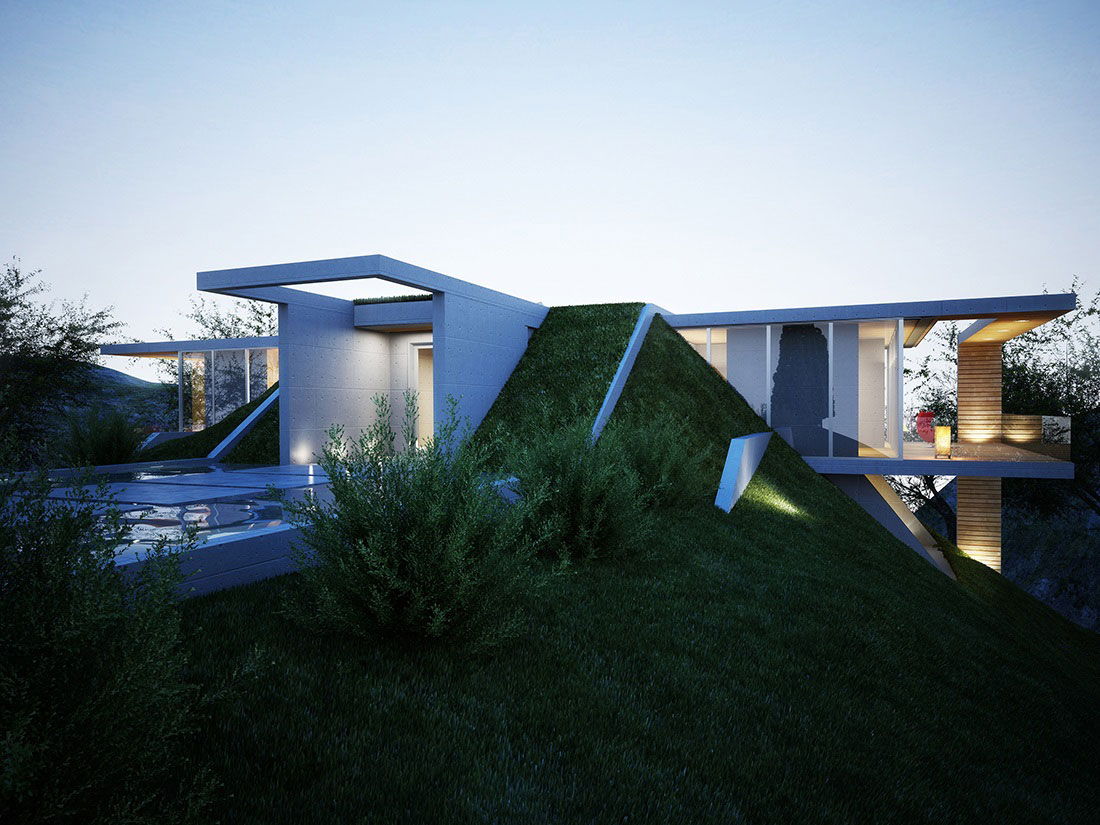 Water-Feature-Earth-House-Project