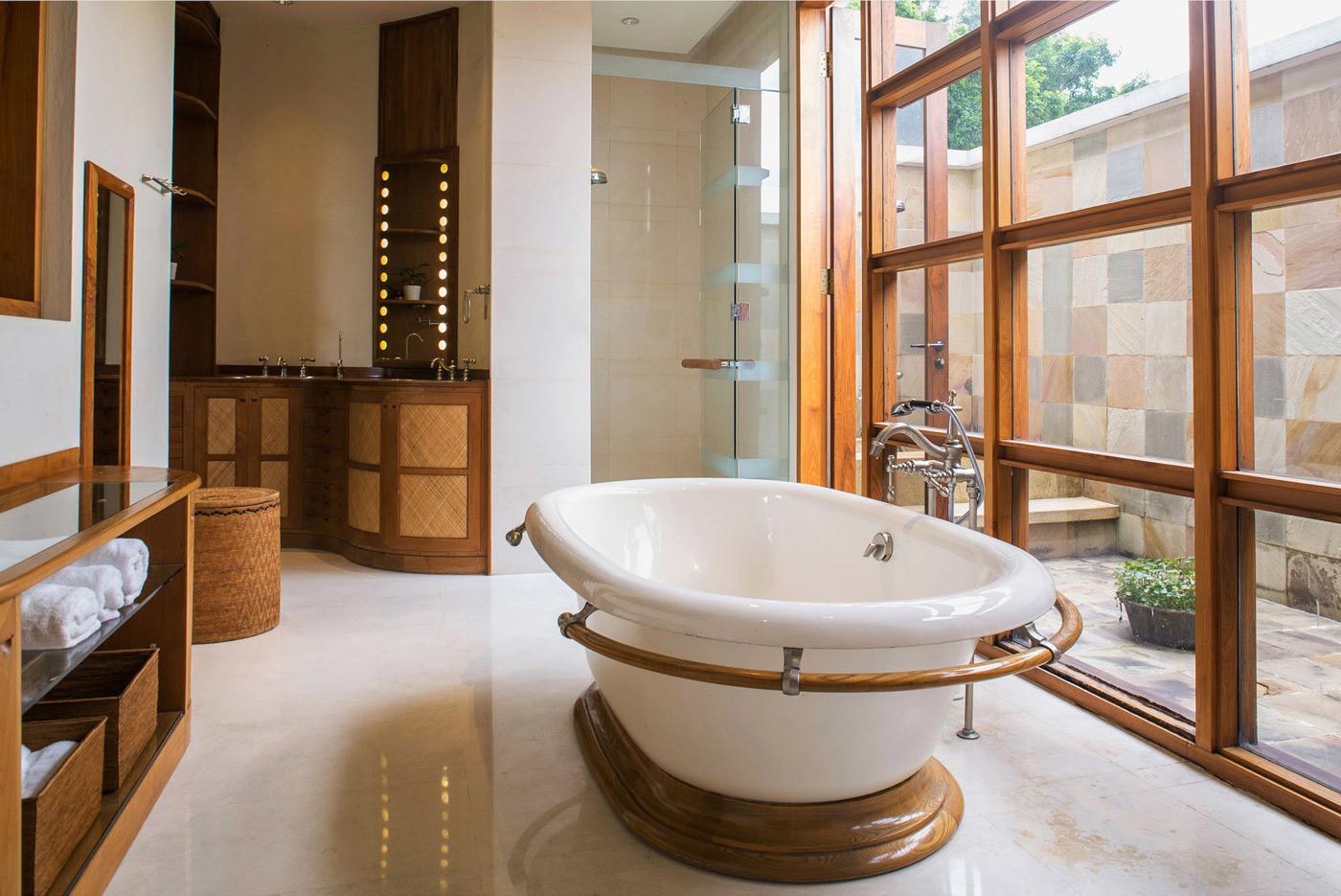 Bathroom, Glass Shower, Sinks, Home in Kuala Lumpur, Malaysia