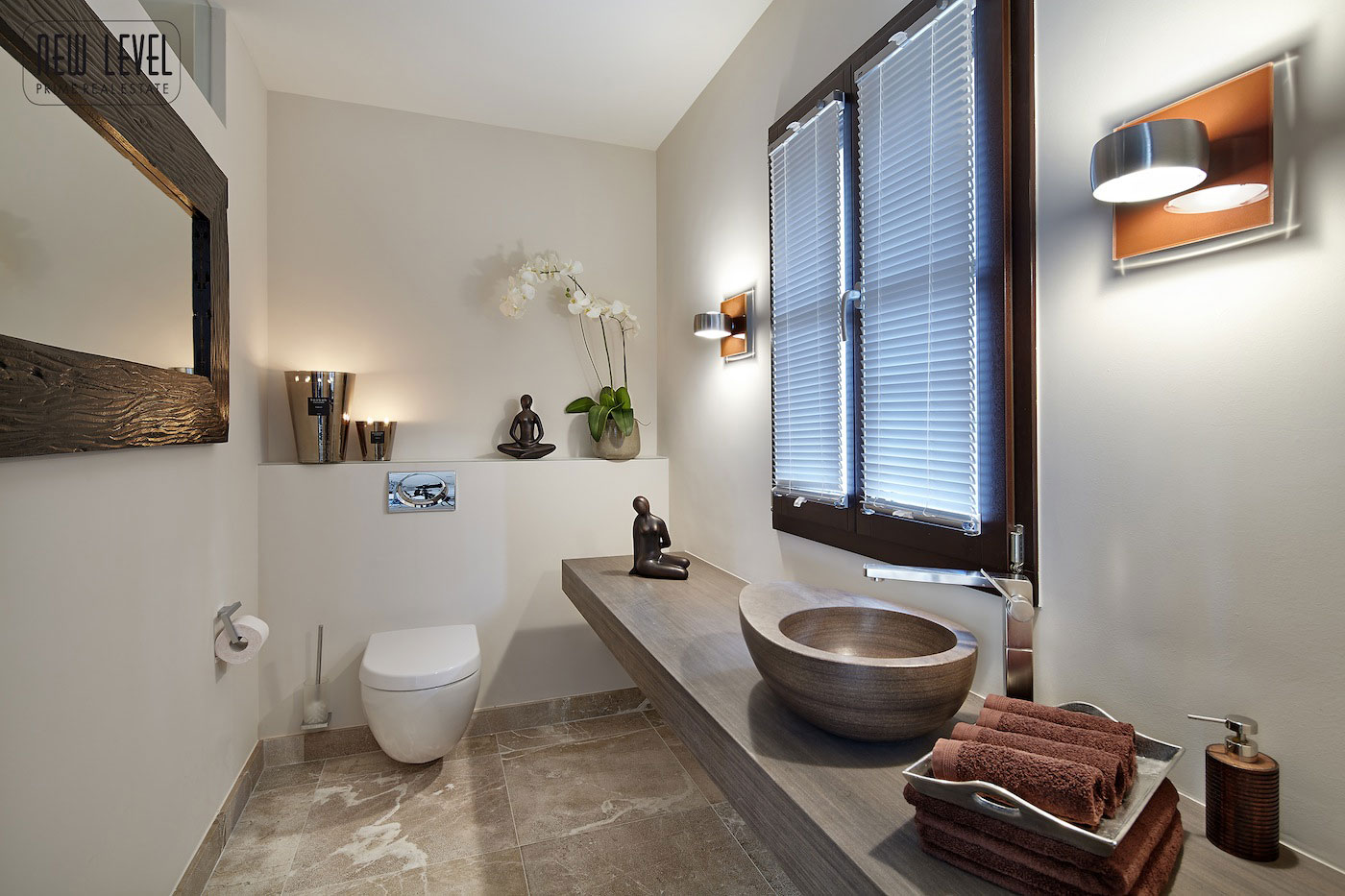 Bathroom, Fabulous Villa in Puerto de Andratx, Mallorca