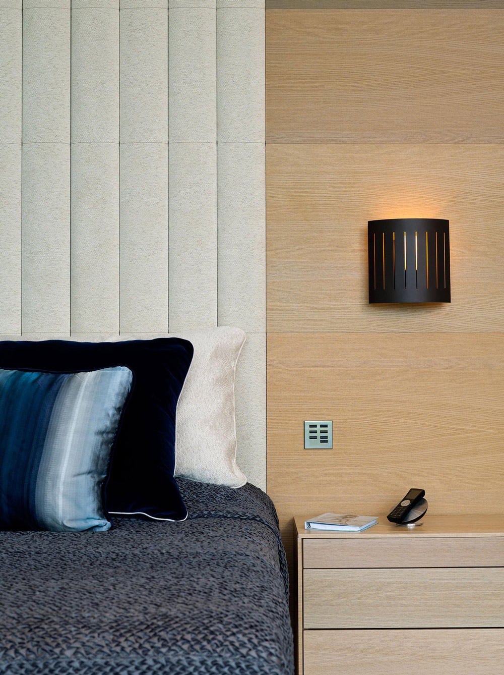 Bedroom Detail, Family Home in Portugal