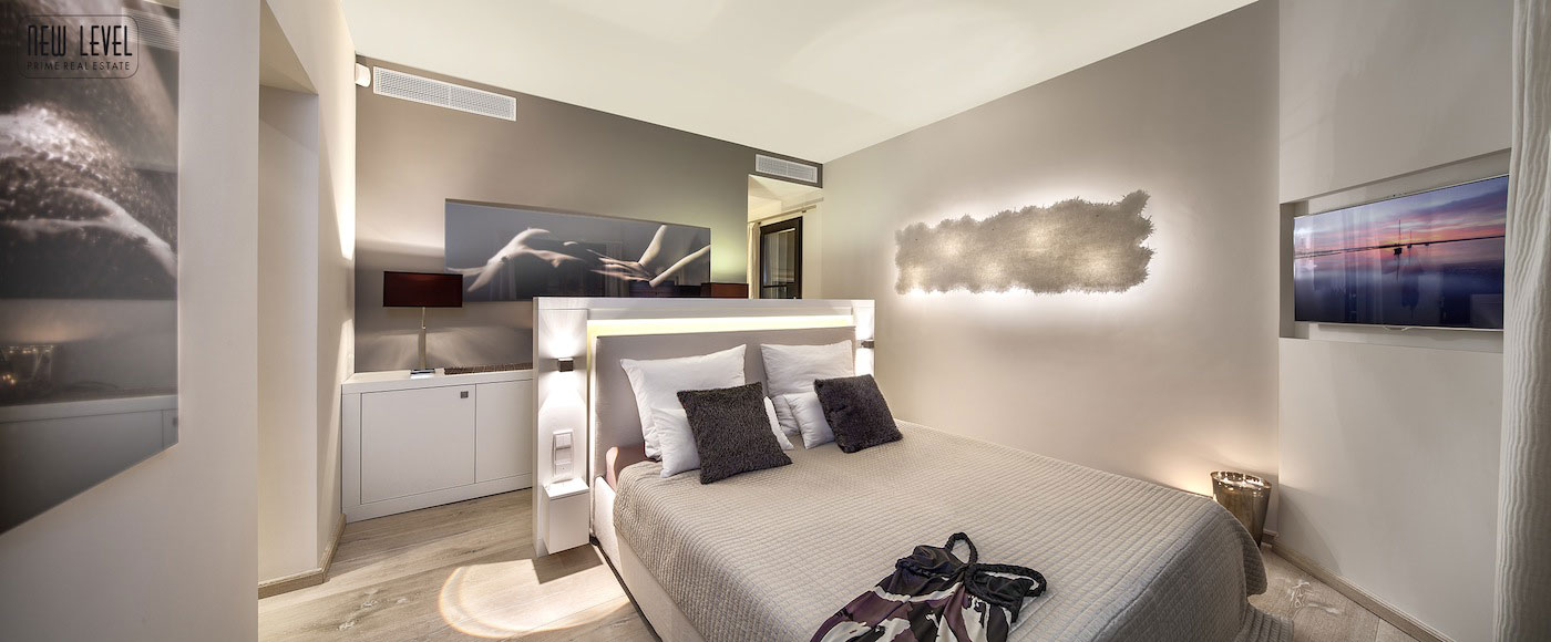 Bedroom, Art, Lighting, Fabulous Villa in Puerto de Andratx, Mallorca