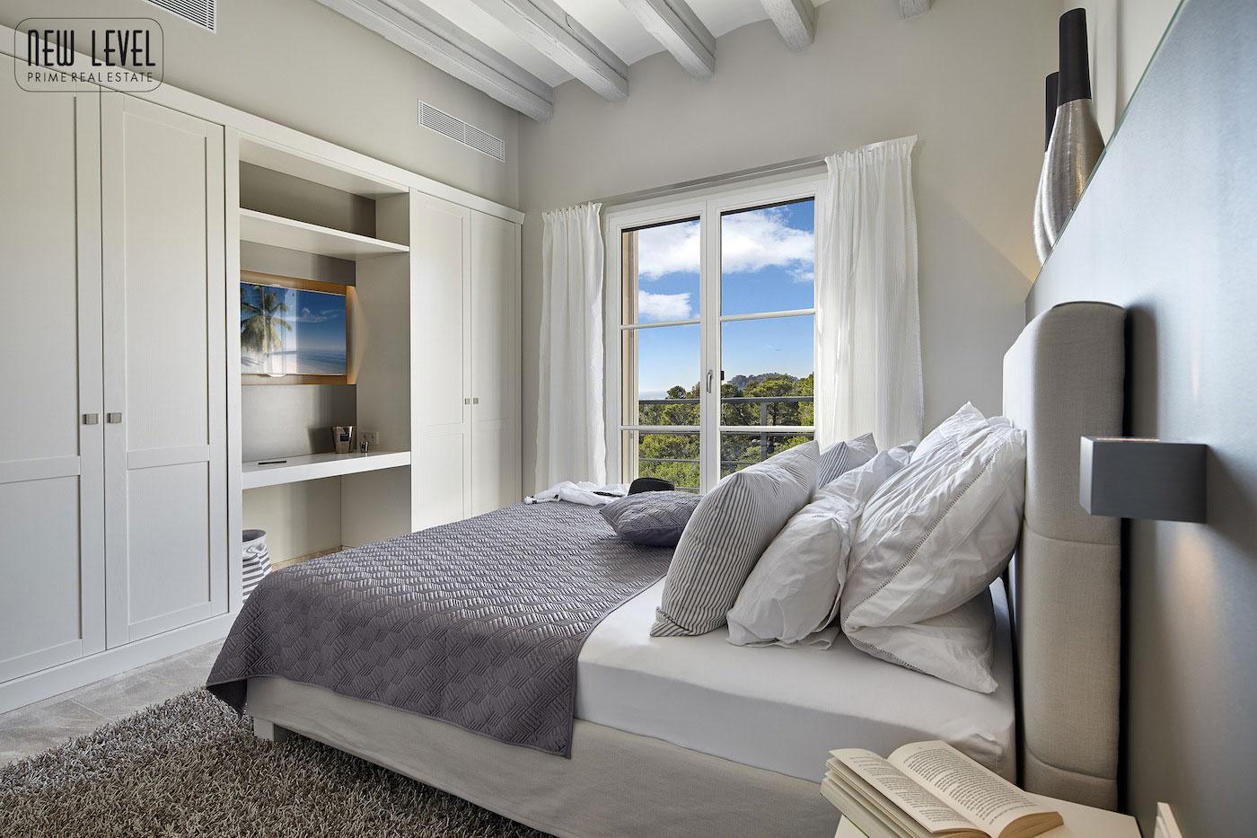 Bedroom, Fabulous Villa in Puerto de Andratx, Mallorca